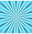 Blue rays poster star burst vector image