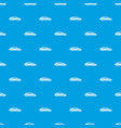 car pattern seamless blue vector image vector image
