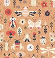 Fantasy Bugs vector image vector image