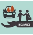 Insurance design protection concept isolated vector image vector image