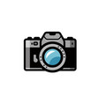 photo camera icon isolated vector image