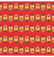 RetroGeometric vector image vector image