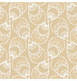 seamless decorative lace pattern on beige vector image vector image