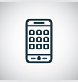 smartphone apps icon for web and ui vector image