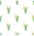 cocktail triangle pattern backgrounds vector image