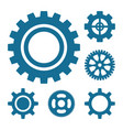 Gear or cog icon vector image