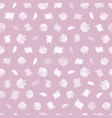pink and white repeat pattern with vector image vector image