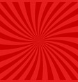 red spiral design background vector image vector image