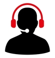 Telemarketing Icon from Commerce Set vector image vector image