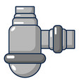 water sewer sump icon cartoon style vector image