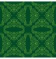 dark green seamless pattern vector image