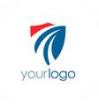 shield guarantee logo vector image