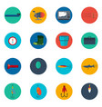fishing icons fishing icons set fishing icons vector image