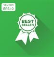 best seller icon business concept best seller vector image