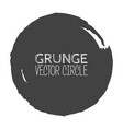 grunge circle element for your design rubber vector image vector image