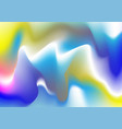 holographic rainbow foil abstract background vector image vector image