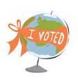 i voted vector image vector image