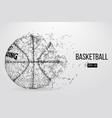 silhouette of a basketball ball