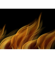 Abstract fire background vector image