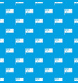 australian flag pattern seamless blue vector image vector image