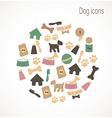 Dog icons vector | Price: 1 Credit (USD $1)