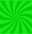 green spiral background - graphic vector image vector image