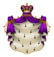 Royal ermine mantle heraldic