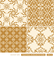 Vintage cream backgrounds vector image vector image