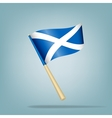 Scotland flag vector image