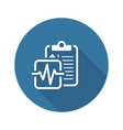 medical services and health care flat icon vector image vector image