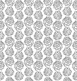 pinecone vertical pattern vector image vector image