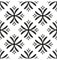 seamless flower pattern Geometric seamless vector image vector image