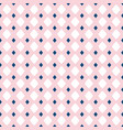 seamless pattern for girls and boys rose pink vector image vector image