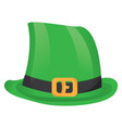 traditional irish hat vector image