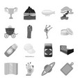 transportation mine space and other web icon in vector image vector image
