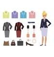 business dress code vector image
