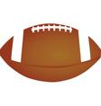 american football ball vector image vector image