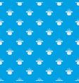 bio food pattern seamless blue vector image vector image