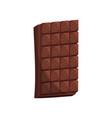 chocolate bar cartoon vector image