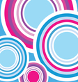 circle background color vector image