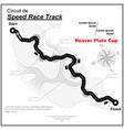eaglesong highway speed track wallpaper vector image vector image