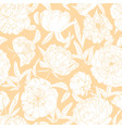 gorgeous floral seamless pattern with blooming vector image vector image