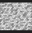 gray parallelogram pattern seamless vector image vector image