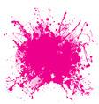 grunge splat background vector image vector image