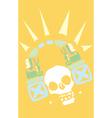 headphones maya vector image