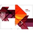 Hi-tech futuristic modern background vector image vector image
