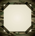 military camouflage vector image vector image