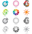 Modern icons or logo elements vector | Price: 1 Credit (USD $1)