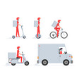 online delivery service vector image vector image
