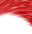 Red abstract wave techno background vector image vector image